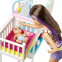 Barbie Skipper Babysitters, серия Товара Mattel - фото, картинка