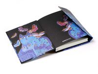 Синие кошки и бабочки, серия производителя Paperblanks
